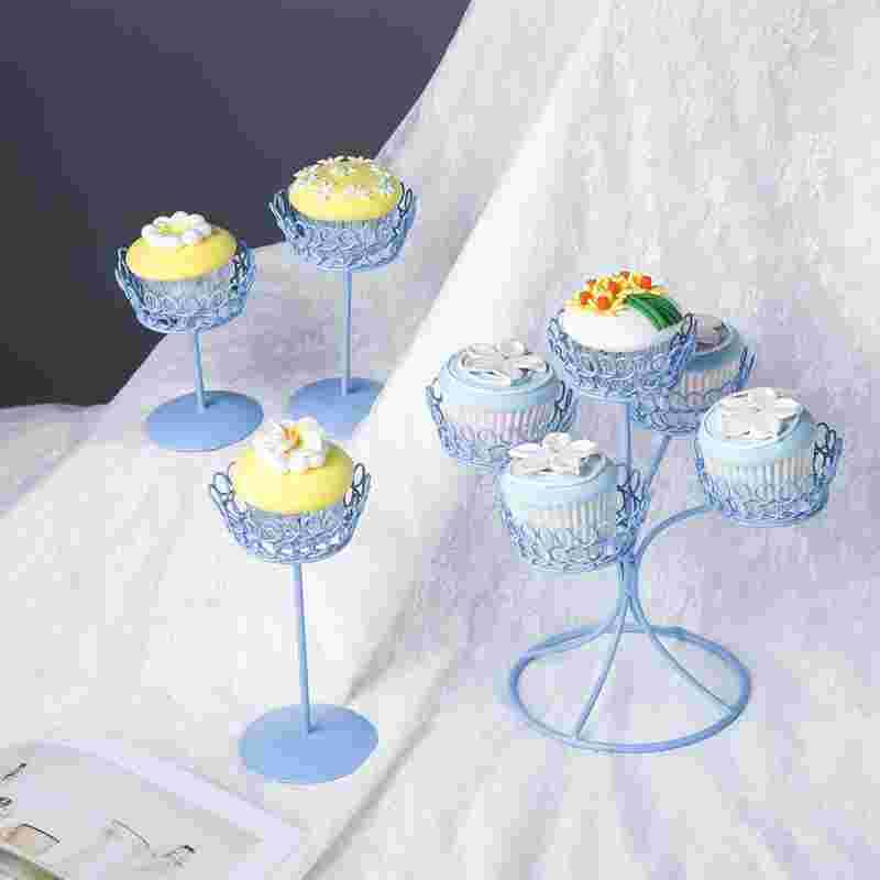 Pleasing Cupcake Holder Birthday Cake Plate Wedding Wrought Iron Cup Cake Birthday Cards Printable Trancafe Filternl
