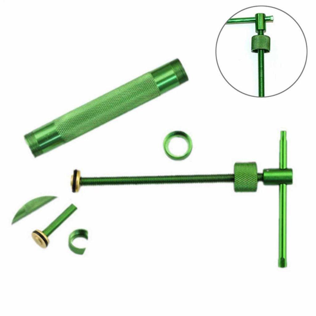 Green Clay Extruder Sculpture Gun Sugar Paste Fondant Cake Sculpture Polymer Gun