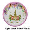 10Pcs 9inch plate